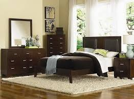 bedroom varnished full size wooden bedroom sets and white window