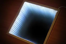 Mirror Decorating Ideas How To How To Make An Infinity Mirror With Pictures Wikihow