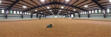 choosing your riding arena u0027s footing equestrian barns