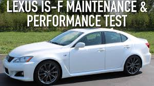 lexus is300 tuner lexus is f maintenance and performance test youtube