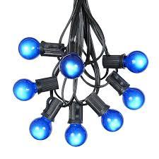 Globe Patio String Lights by Globe Shaped Outdoor G30 Light String Sets Novelty Lights Inc
