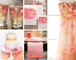 watercolor bridesmaid dresses watercolor inspired mariée ami