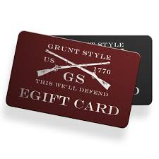 e giftcards grunt style e gift cards grunt style llc