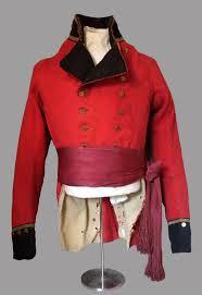 Red Sash Upper Canadian British Militia Officer U0027s Coatee And Red Sash