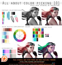 all about color picking 101 voice over promo by sakimichan on