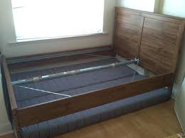 can you use a bed frame without a box spring memory foam mattress