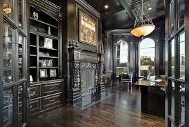 interior design remarkable gothic home office and library with