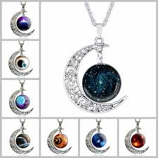 glass star pendant necklace images Wholesale 64 styles silver moonstone necklace owl flower tree of jpg