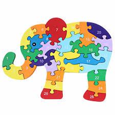 aliexpress com buy kids winding animal wooden puzzle children