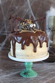 Scary Halloween Cake Ideas Best 10 Spider Cake Ideas On Pinterest Halloween Cakes