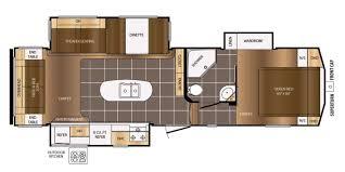 Rear Kitchen Rv Floor Plans 2018 Prime Time Crusader 297rsk Fifth Wheel 2222118 Daves