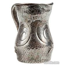 Tiffany Silver Vase Antique Tiffany Silver Silver Pewter Brass Copper Chrome