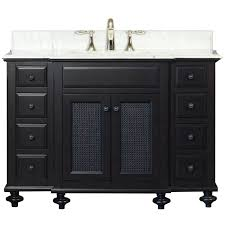 Antique Black Bathroom Vanity Traditional Vanity Wins By Default In Bath Design Bathroom