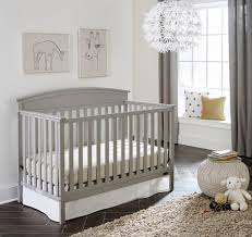 How To Convert Graco Crib To Toddler Bed by Graco Benton 5 In 1 Fixed Side Convertible Crib Pebble Gray