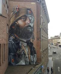 murals hi fructose magazine australia born muralist smug one uses walls and structures across the world as canvases for his vivid portraits whether it s his own family members