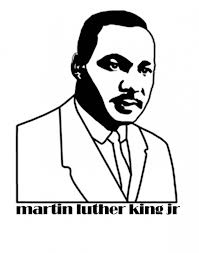 martin luther king dream coloring mlk coloring