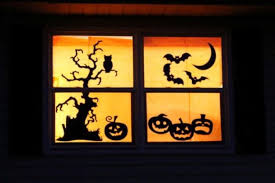 halloween window decor how to decorate house for halloween cute