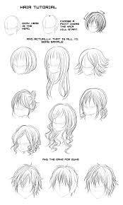 anime hairstyles tutorial image detail for hair tutorial by moyogi anime manga hair