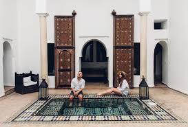 moroccan riad floor plan riad porte royale an oasis of calm in hectic marrakech along