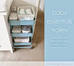 Ikea Portable Changing Table My Stead Cloth Storage Solutions