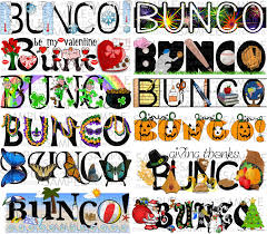 one year of bunco sets bunco printables pinteres