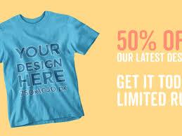 facebook ad t shirt mockup generator 5066 templates