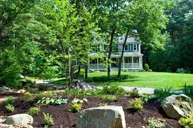 landscaping ideas for front yard corner house the garden