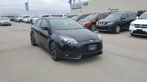 ford focus edition 2014 used 2014 ford focus 5dr hb st 4 door car in winnipeg 17p3t03a