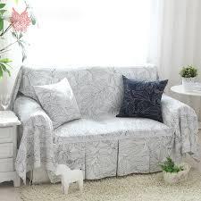 housse canapé blanc superior housse canape blanc 4 style américain épais 100 coton