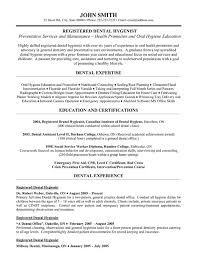 dental hygienist resume dental hygienist resume 8 registered template premium sles