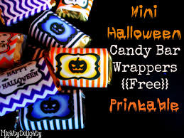 halloween printable bookmarks mighty delighty mini halloween candy bar wrappers free printable