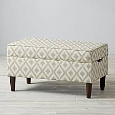 Gray Storage Bench Grey Tufted Storage Bench The Land Of Nod
