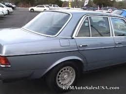 mercedes 300d for sale 1985 mercedes 300d turbo diesel at rpm auto sales