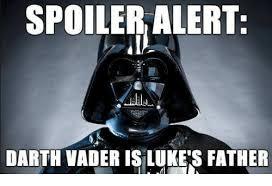 Vader Meme - spoiler alert darth vader isilukes father darth vader meme on me me