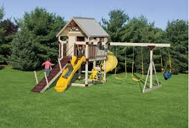 Cheap Backyard Playground Ideas Kid U0027s Outdoor Playsets Kid U0027s Vinyl Swing Sets Adventure World