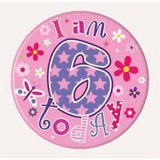 birthday girl pin birthday girl pin badge simon elvin balloons and butterfly theme
