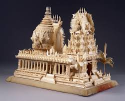 Home Temple Decoration by Thermocol Temple Jeet Ganesh 2014 Pinterest Temple