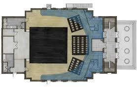 rendered auditorium floor plan donivannoble