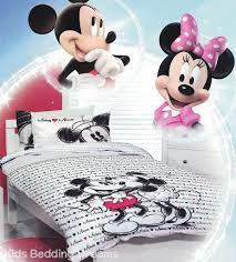 Mickey And Minnie Comforter Mickey Loves Minnie Quilt Cover Set Mickey Mouse Bedding