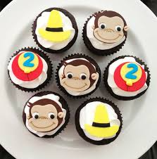 curious george cupcakes best 25 curious george cupcakes ideas on curious