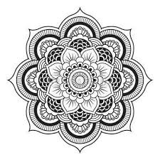 Simple Lotus Flower Drawing - best 25 lotus mandala design ideas on pinterest lotus mandala