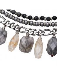 pearl beads bracelet images Choker fancy beads light grey dark grey red fancy bracelets jpg