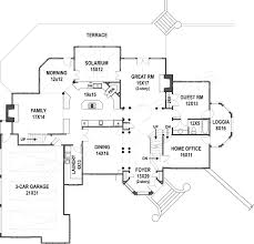 amboise luxury house plans 4000 sq ft house plans