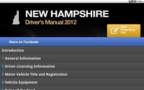 dmv manual book new hampshire driver manual 0 android apps on google play