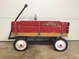 Radio Flyer Push Buggy Radio Flyer Town U0026 Country Wagon U2022 100 00 Picclick
