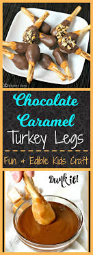 chocolate caramel turkey legs recipe chocolate caramels