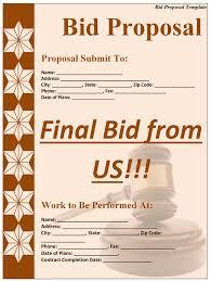 bid proposal template png
