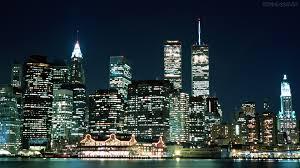 cidades de noite papel parede luzes da cidade manhattan 333090