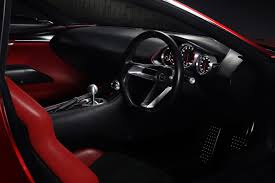 what kind of car is mazda mazda rx vision rotary sports car concept inside mazda