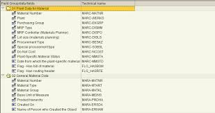 Sap Material Master Tables by Use Sap Query To Check Material Master For Missing Bom Or Routing